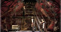 Hamlet by William Sh - Hamlet by William Shakespeare Set Design by Richard…