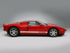 The iconic Ford GT. Still looks awesome 6 years after production was stopped.