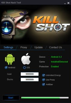 Kill Shot Hack  Kill Shot Hack Tool (Android/iOS) - HacksBook http://www.hacksbook.com/kill-shot-hack-tool-cheats/