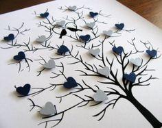 8x10. 3D Mini Butterfly Tree. Wedding. Anniversary. Special