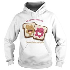 Bff Sweatshirts Peanut Butter Jelly - Bff Shirts - bff Hoodies - A tree is known by its fruit;he who sows courtesy reaps friendship Bff Sweatshirts, Friends Sweatshirt, Bff Shirts, Hoodies, Best Friend T Shirts, Graphic Tees, Graphic Sweatshirt, Birthday Gifts For Best Friend, Bestfriends