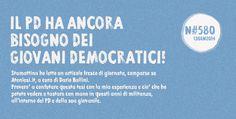 Stamattina ho letto un articolo fresco di giornata, comparso su Ateniesi.it (la community-blog dei sostenitori di Matteo Renzi), a cura di Dario Ballini. Parla dei Giovani Democratici e di come siano ormai il fallimento, ennesimo, del Partito Democratico pre-Renzi, un fallimento, dice Dario,
