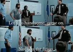 Not you fat Jesus.