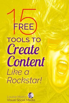 Marketing tips for small business: Need content creation tools? If your content marketing budget is tight, these 15 FREE tools will help. Click to blog to learn how to make PDFs, graphics, infographics, videos and slide shows – for FREE! #contentmarketing #freetools
