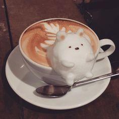 画像 Coffee Latte Art, Coffee Cafe, Coffee Drinks, Coffee Shop, Coffee Mugs, Bento Kawaii, Kawaii Dessert, Cute Desserts, Kawaii Shop