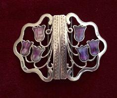 Antique Sterling Silver English Nurse or Ladies Belt Buckle Hallmarked 1912 | eBay