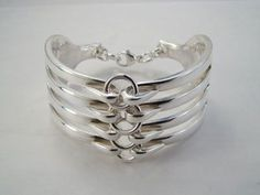 Here are two companies that make exquisite jewellery from recycled forks and spoons. Fork And Spoon Jewelry is a family business. The Leidelmeyer family have been silversmithing and jewellery maki...