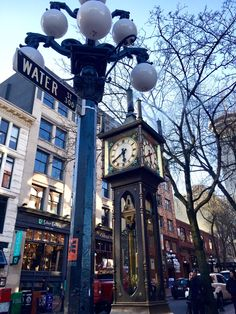 Gastown in Vancouver, BC Where old meets new, the city's oldest neighborhood ! This up and coming area is home of some of the best shopping boutiques in the city and and trendiest restaurants and bars. In 2009 it was designated a National Historic Site. Don't miss the iconic steam clock !