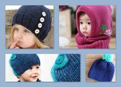 TAILLE TOUR DE TETE - Bonnets enfants Newborn Crochet Patterns, Crochet Baby, Knit Crochet, Tricot Baby, Knitting Projects, Baby Knitting, Knitted Hats, Kids Outfits, Winter Hats