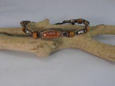 bracelet macramé pour homme : Bracelet par les-creations-du-sud