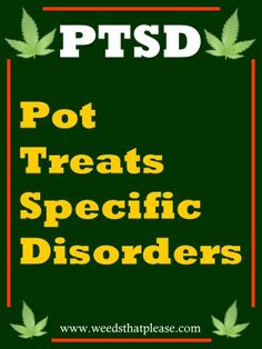 Military Veterans, PTSD & Marijuana | Post Traumatic Stress Disorder