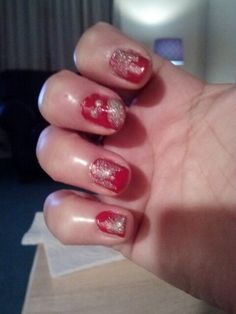 KCChiefs red and gold ombre.  #bigrednation