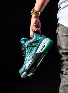 new product 4018a 0ddbf The Air Jordan 4 Teal 2015 is one of the many releases as part of Jordan  Brand s remastered versions. The Air Jordan 4 Teal 2015 release date is set  and is