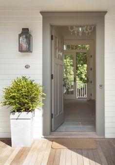 front door color and interior floor