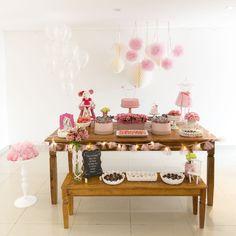 festa infantil bailarina giovana inspire-12 Festa Party, I Party, Dessert Table, Event Decor, 3rd Birthday, Ladybug, Ballerina, Party Themes, Ballet