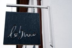 Le Buro hanging sign