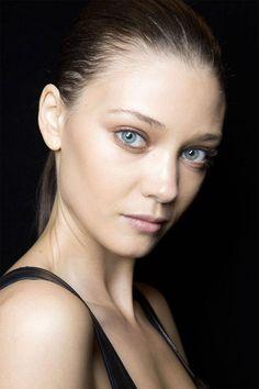Spring 2015 Runway makeup trends offer some surprises. J Mendel Imaxtree  - HarpersBAZAAR.com
