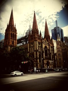 St Paul's Cathedral, Melbourne  For more visit the bog at www.theroadstravelled.com