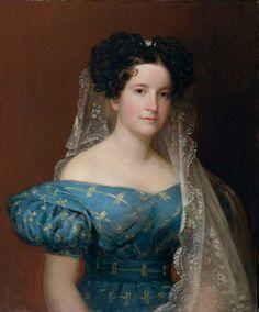 Ann McCurdy Hart Hull 1790–1874 Unidentified artist  Oil on canvas, c. 1830–35