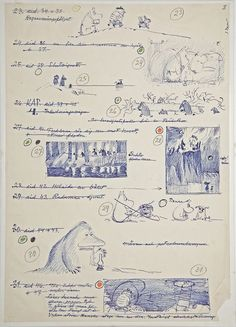 Jansson, drawing of a Moomins storyboard.Tove Jansson, drawing of a Moomins storyboard. Tove Jansson, Illustrations, Children's Book Illustration, Moomin Books, Storyboard, Childrens Books, Concept Art, Sketches, Drawings