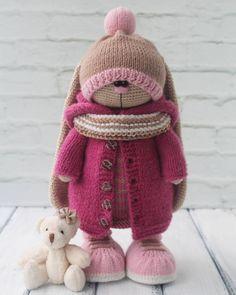 New crochet amigurumi pokemon toys Ideas Crochet Bunny Pattern, Crochet Bear, Crochet Baby Booties, Crochet Patterns Amigurumi, Crochet Blanket Patterns, Knitted Dolls, Crochet Dolls, Crochet Ripple Afghan, Crochet Stitches For Blankets