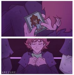 Matt & Pidge - by amezure. This is cute and sad at the same time. The feels.