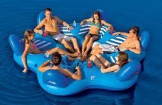 Amazon.com: SportsStuff Pool N' Beach 6 Up Lounge: Sports & Outdoors