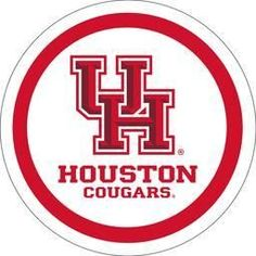 "University of Houston - 7"" paper plate (12ct)"