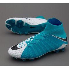 Botas De Futbol Nike Hypervenom Phantom III 3 DF FG Blanco Negro Azul foto  Online Store 278ebec0a13ed
