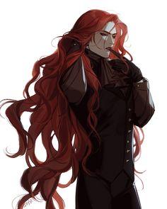 Fantasy Character Design, Character Creation, Character Design Inspiration, Character Art, Handsome Anime Guys, Cute Anime Guys, M Anime, Anime Art, Vampire Art