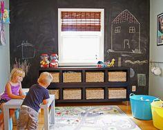 Kid play room