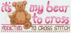 Bear , found on : http://www.better-cross-stitch-patterns.com/support-files/bear-to-cross.pdf