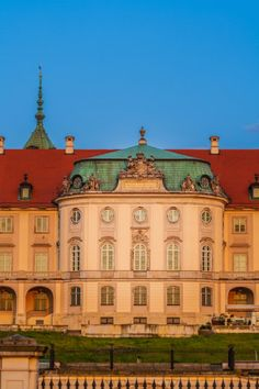 The Royal Castle in Warsaw @ dawn, Warsaw, Poland