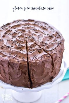 The Best Gluten Free Chocolate Cake Recipe What the Fork Food Blog
