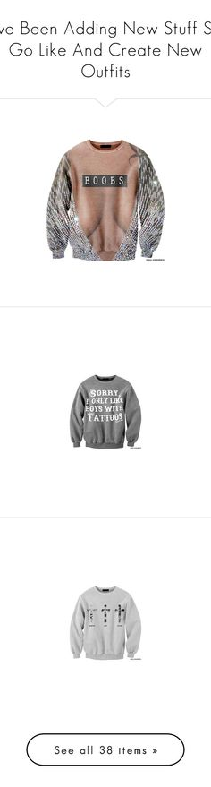 """""""I've Been Adding New Stuff So Go Like And Create New Outfits"""" by bvby-gvl ❤ liked on Polyvore featuring tops, sweaters, cat top, cat print sweater, cat print top, fair isle sweater, fairisle sweater, cat sweater, blue sweater and blue top"""