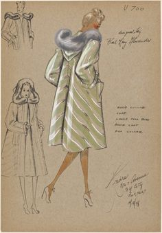 1960s Fashion Women, Vintage Fashion, Costume Design Sketch, Fashion Illustration Vintage, Fashion Vocabulary, Vestidos Vintage, Vintage Couture, Vintage Glamour, Cool Costumes