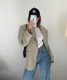 Mode Outfits, Retro Outfits, Cute Casual Outfits, Fall Outfits, 90s Fashion, Fashion Outfits, Womens Fashion, Girl Fashion, Mode Dope