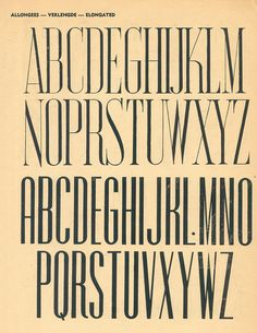 100 alphabets publicitaires (1946). #typography