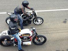 RocketGarage Cafe Racer: Harley Turbo by Highway to Zen