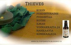 Öljynpisaroita: Thieves kodinpuhdistusaine