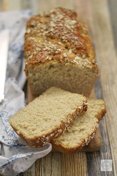 Bread Machine Recipes, Bread Recipes, Biscuit Bread, Pan Dulce, Pastry And Bakery, Sin Gluten, Banana Bread, Food And Drink, Healthy Recipes