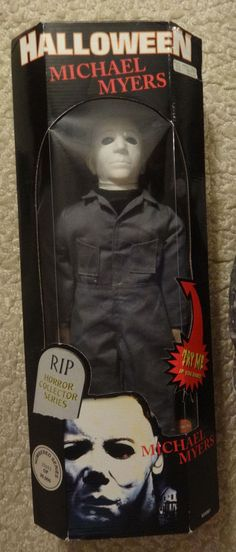 "Halloween Michael Myers RIP Horror Spencers Collector Series 18"" Doll  #Spencers"