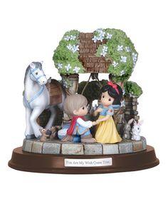 Snow White & Prince Charming Musical Figurine #zulily #zulilyfinds
