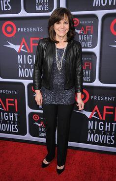 Sally Field arriving at AFI's Night at the Movies at the ArcLight Cinemas in Hollywood, California - April 24, 2013 - Photo: Runway Manhattan/ZUMA Press