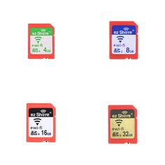 EZ share WiFi Share Memory SD Card Wireless Camera Share Card SDHC Flash Card Class 10 16GB for Canon/Nikon/Sony Sales Online black - Tomtop