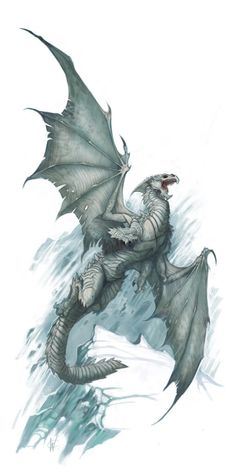 Young white dragon                                                                                                                                                                                 More