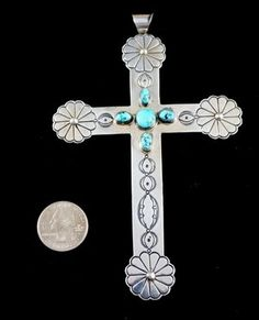 Nwt Painstaking 18 Inch Genuine Crystal Cross Pendant And Earring Set Nice