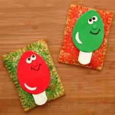 Hungry Happenings: Twelve days of sweet designs, day 12 - Cheery Christmas Lights