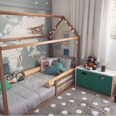 Cheap bedroom ideas for small rooms simple bedroom ideas for small rooms boy girl twin toddler bedroom ideas for small rooms on bedroom design ideas for Small Room Bedroom, Baby Bedroom, Small Rooms, Girls Bedroom, Bedroom Decor, Kid Bedrooms, Nursery Room, Trendy Bedroom, Bedroom Themes