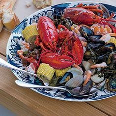 Seafood at the Shore : Summer! Shower | Crate and Barrel